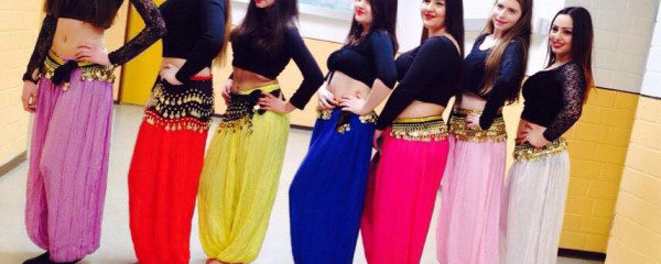 Orientalische Tanzkurse des Jugendzentrums
