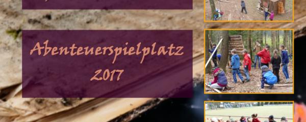 """Buch """"Abenteuerspielplatz 2017"""" jetzt erhältlich!"""