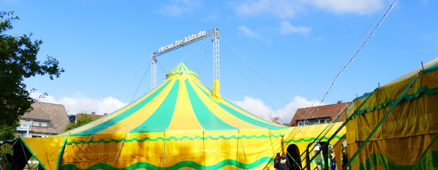 Kinder machen Zirkus 2017 – Noch wenige Plätze frei!