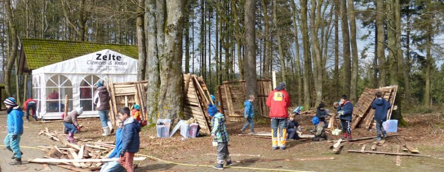 Abenteuerspielplatz 2019 in den Osterferien
