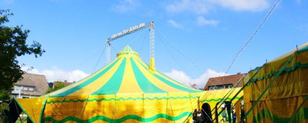 Kinder machen Zirkus – Anmeldezeitraum