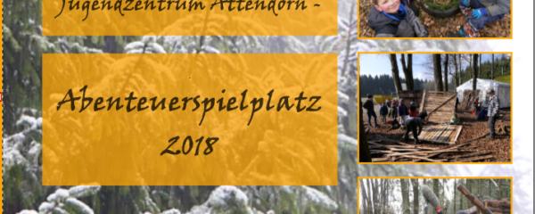"""Fotobüchlein """"Abenteuerspielplatz 2018"""" noch erhältlich"""