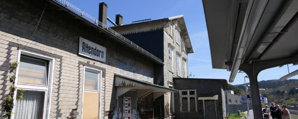 Förderbescheid für Alten Bahnhof eingegangen