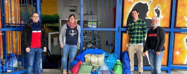 Spenden für Obdachlose in Dortmund